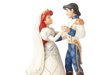 The Little Mermaid - Ariel and Prince Eric Wedding Bliss Figurine
