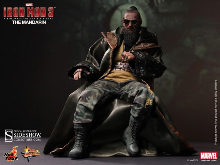 The Mandarin Hot Toys Action Figure