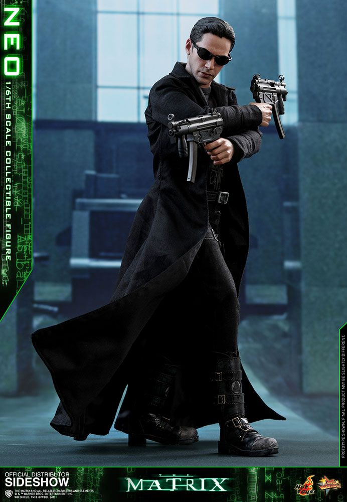 The Matrix Neo 1 6 Scale Hot Toys Movie Masterpiece