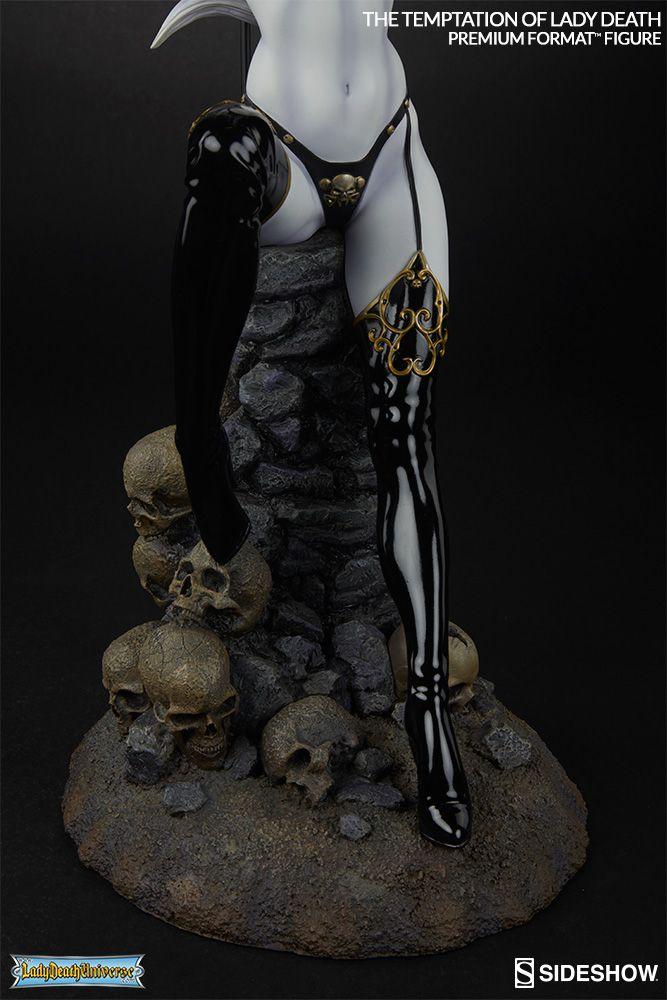 the temptation of lady death lady death sideshow