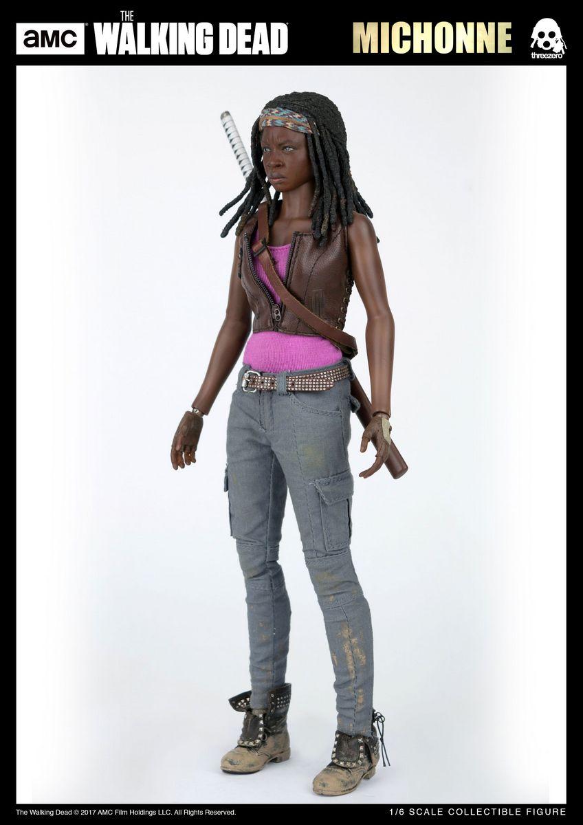 The Walking Dead - Michonne - ThreeZero 1/6 Scale Action ...