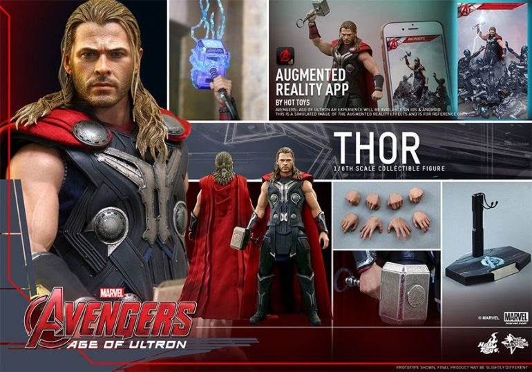 Thor Hot Toys Action Figure