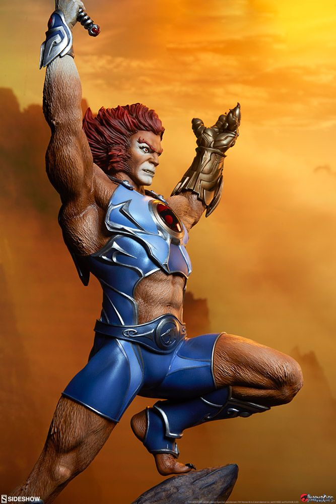 thundercats liono sideshow collectibles statue