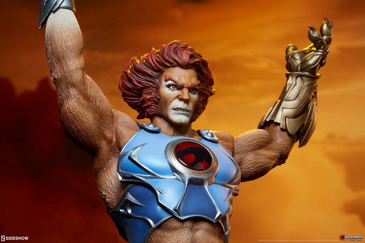 thundercats liono sideshow collectibles statue
