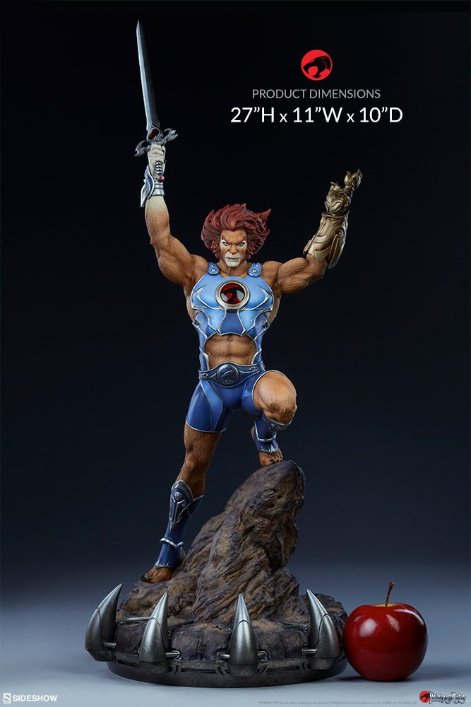 thundercats - lion-o - sideshow collectibles statue