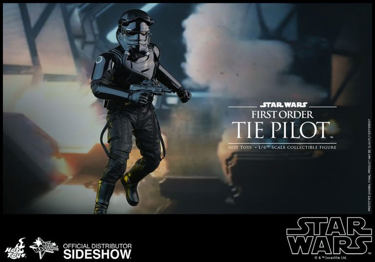 Tie Fighter Hot Toys Action Figure