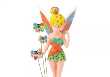 Tinker Bell On Flower Figurine