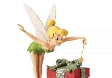Tinker Bell Pixie Dusted Present Figurine