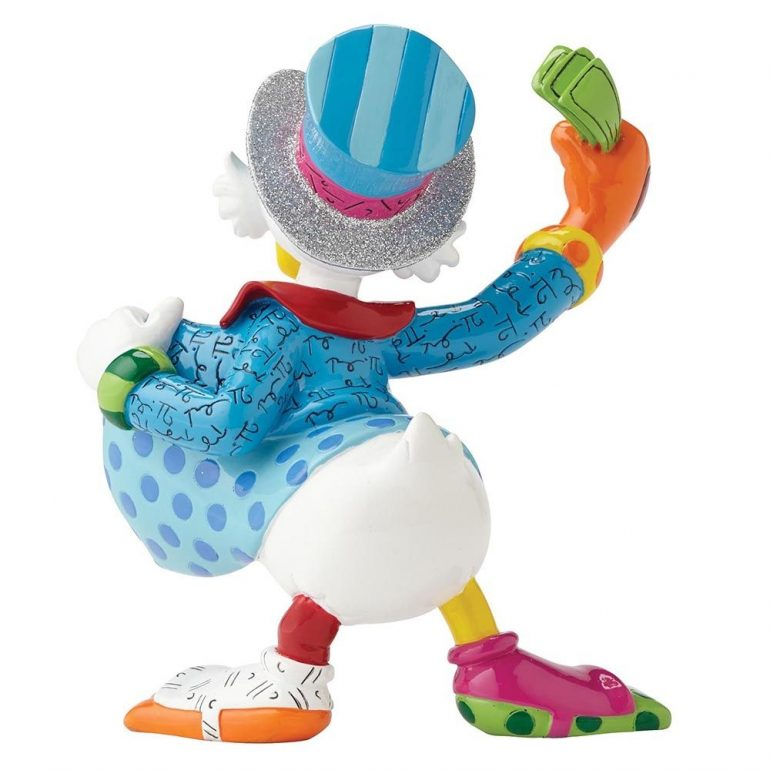 Uncle Scrooge Britto Figurine