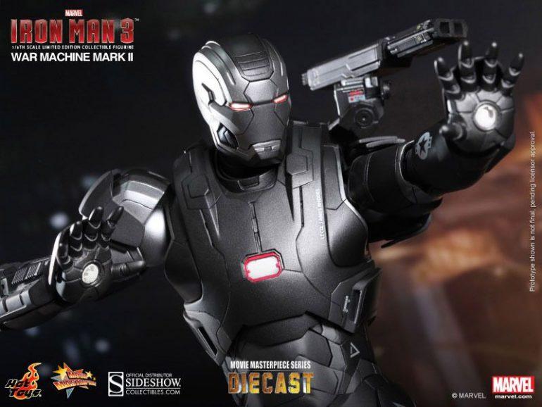 War Machine 2 Hot Toys Action Figure