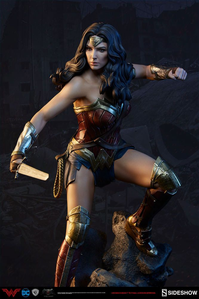 Batman V Superman Dawn Of Justice Wonder Woman Premium Format Sideshow Collectibles Statue On Sale