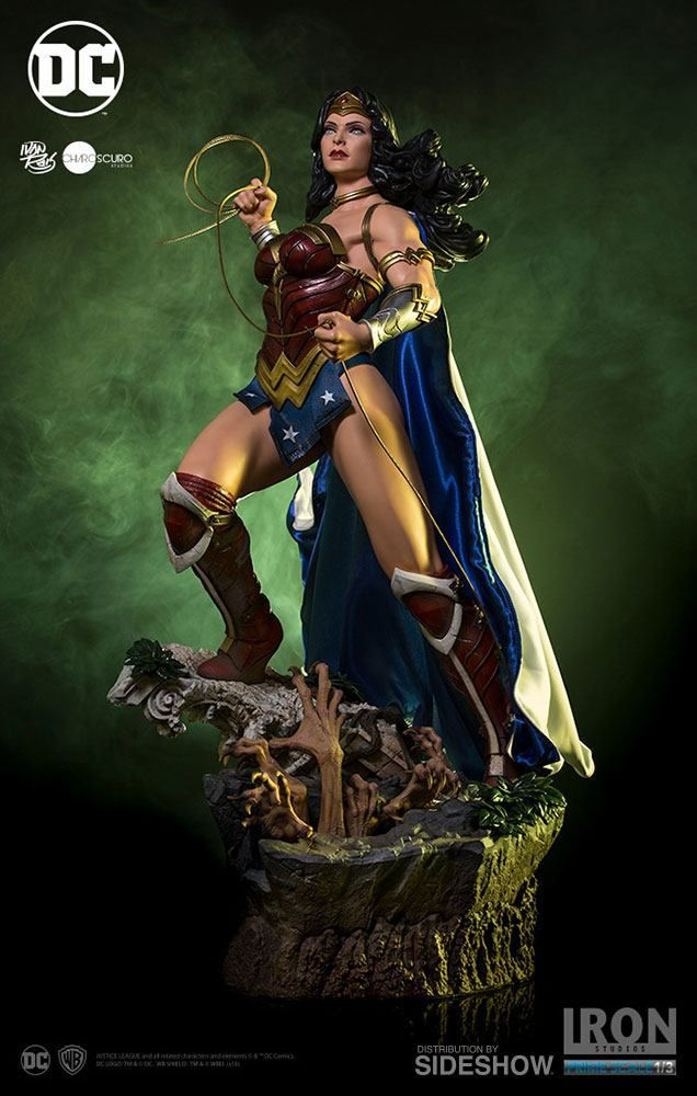dc comics wonder woman iron studios 13 statue movie mania