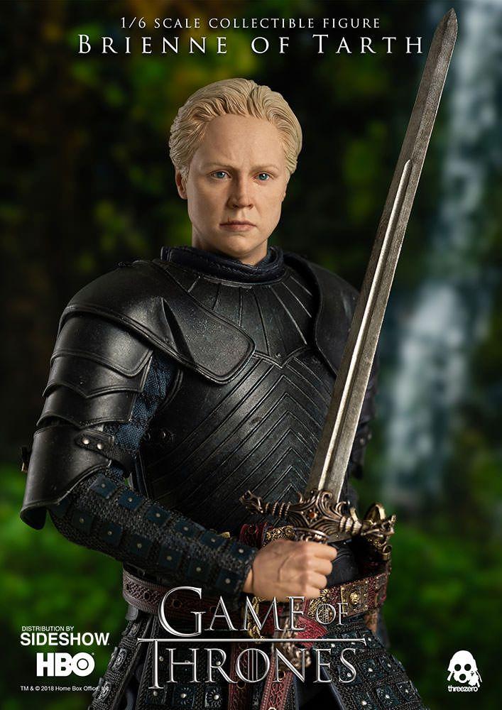 Game Of Thrones Brienne Of Tarth Threezero 1 6 Scale Action Figure Movie Mania