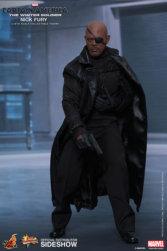 Captain America The Winter Soldier Nick Fury 1 6 Scale