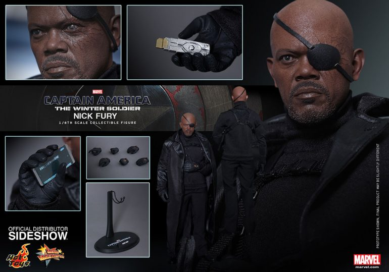Nick Fury Hot Toys Action Figure
