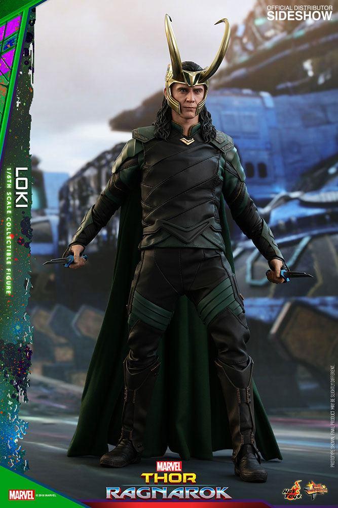 Thor Ragnarok - Loki 1/6 Scale Movie Masterpiece Hot Toys Action Figure